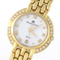 Maurice Lacroix 750/18K Gelbgold - 20 Diamanten ca. 0,4 ct. -...