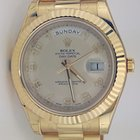 Rolex Day-Date II President Yellow Gold - Fluted Bezel REF:218238