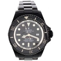 Rolex Men's Rolex Deepsea Sea-Dweller Blackout PVD 116660