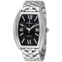Milus Agenios Automatic Black Dial Men's Watch