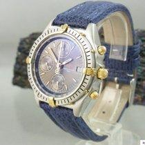 百年靈 (Breitling) Chronograph Chronomat Stahl Gold Herrenuhr