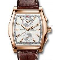 IWC Schaffhausen IW376420 Da Vinci Chronograph Silver Plated...