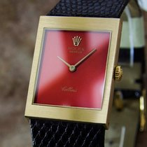 Rolex Cellini 18k Solid Gold Swiss Made Mid Size Men 1971...
