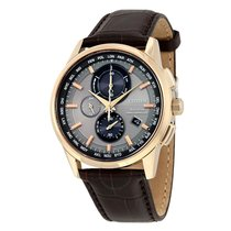 Citizen Eco-Drive World Chronograph A-T Men's Watch
