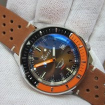 Squale SqualeMatic 600m Polished Case Chocolate Dial