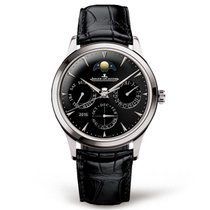 Jaeger-LeCoultre Master Ultra Thin Perpetual Calendar Ss Black...