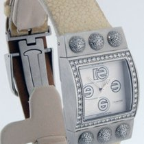 Roberge Ladies Steel & Diamond Corvus Watch