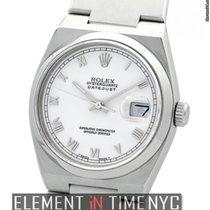 Rolex Datejust OysterQuartz 36mm White Roman Dial Circa 1990...