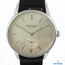 Nomos Orion 38 Datum weiß 381