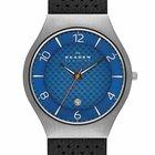 Skagen SKW6148 Herrenuhr Grenen Titanium grau blau Leder 41mm