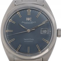 IWC Yacht Club Stahl Automatik Stahlband 37mm Vintage Bj.1970...