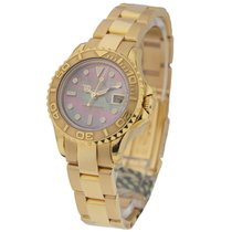 Rolex Used Yacht Master Lady's Yellow Gold 16962