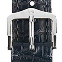 Hirsch Uhrenarmband Earl schwarz L 04707059-2-20 20mm