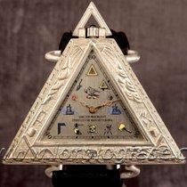 Masonic Large Sterling Silver Masonic / Freemasonry Triangle...