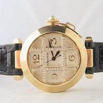 Cartier Pasha Original Diamond Grill 18k Yellow Gold