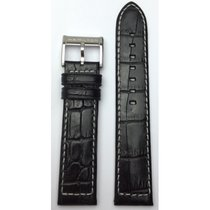 Hamilton Jazzmaster Lederband schwarz 21mm H600.776.122