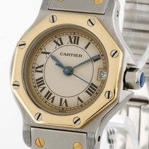 Cartier Santos Octagon Lady Quarz Stahl/Gold Ref. 187903