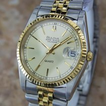 Bulova Super Seville Swiss Made Mens Stainless S Automatic...