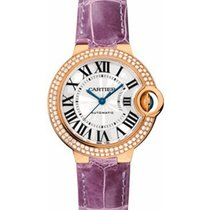 Cartier WE902066 Ballon Bleu Ladies 33mm Automatic in Rose...