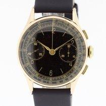Chronograph Suisse Vintage Watch Cal. Landeron solid18K Rose...