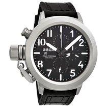 U-Boat Classico 50 Black Dial Chronograph Men's Automatic...