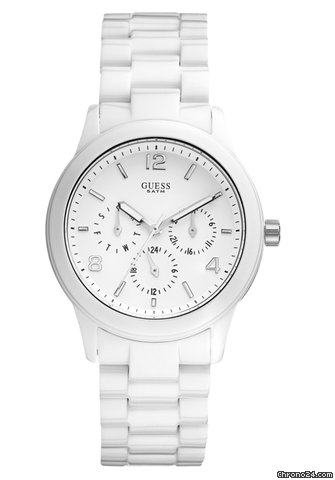 Guess Mini Spectrum White Damenuhr