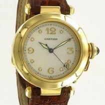 Cartier Pasha C Yellow Gold/Diamonds/MOP Dial
