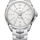 TAG Heuer Calibre 7 GMT function 42mm Silver Dial
