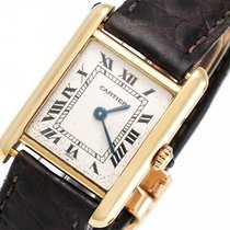 Cartier Tank - 18K/750 Gelbgold - 20 x 27,7 mm - Quarz -...
