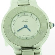 Cartier Must 21 Stainless Steel Round Ladies Quartz Watch 27mm