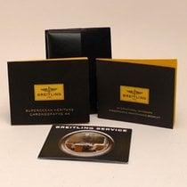 Breitling Booklet Set Superocean Heritage chrono 44 + Leather...