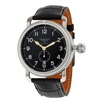 Longines Heritage Avigation Black Dial Automatic Men's Watch