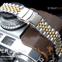 Seiko 22mm Super Jubilee IP Gold Tone Watch Bracelet