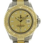 Rolex Mens Watch Stainless Steel & 18K Gold Yachtmaster...
