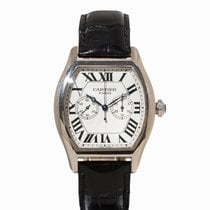 Cartier Tortue Single Pusher Chronograph, Ref. 2762, c. 2000