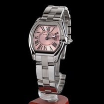 Cartier roadster steel quartz lady