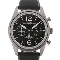 Bell & Ross Vintage 41 Black Dial Chronograph