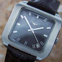 Longines Swiss Made Mens Stainless Steel Luxury Manual Dress...