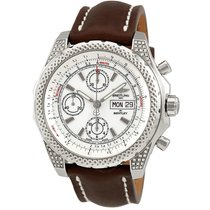 Breitling Bentley GT II White Dial Automatic Chronograph...