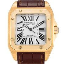 Cartier SANTOS 100 W20071Y1 38 x 38 mm Automatic Watch Swiss Made