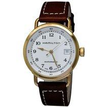 Hamilton Ladies H78205553 Khaki Navy Pioneer Auto Watch