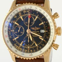 Breitling NAVITIMER WORLD 18K Gold Chronograph GMT 46 mm