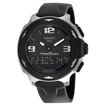 Tissot T-Race Analog Digital Black Rubber Mens Watch T08142017...