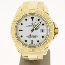 Rolex Yachtmaster 18kYellowgold 40mm (B&P1996) Servicepape...