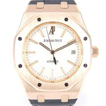 Audemars Piguet Royal Oak 15300 Rose Gold with box and extract...