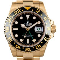 Rolex GMT-MASTER II 40mm 18K Yellow Gold Watch Ceramic Bezel