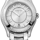 Ebel X-1 Silver Dial Stainless Steel Ladies Watch