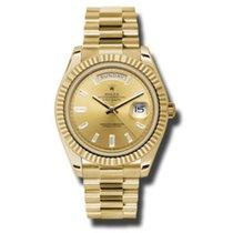 Rolex Day-Date II, Ref. 228238 - champagner Diamant Zifferblatt