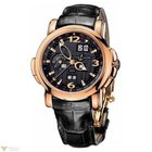 Ulysse Nardin GMT Perpetual Black dial 42 mm Mens Watch