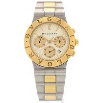 Bulgari Men's  Diagono Chronograph 18k Yellow Gold &...